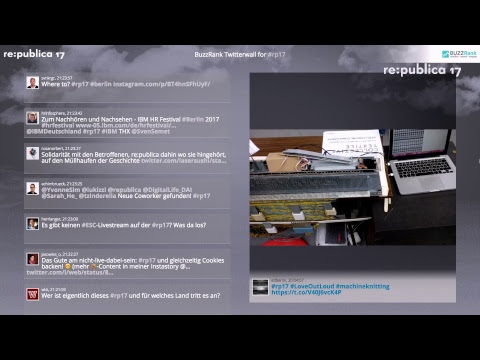 re:publica 2017 | Day 2 - Livestream Stage 1 - English incl. Translation