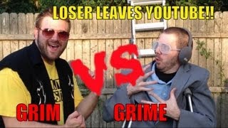 Grim's Toy Show ep 577: GRIM VS GRIME Loser Leaves Youtube MATCH! WWE figure collection review