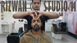 ASMR Relaxing Head Massage at Studio 11 | Travel Series Video 11