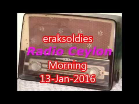Radio Ceylon 13-01-2016~Wednesday Morning~02 Purani Filmon Ka Sangeet