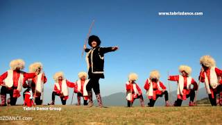 رقص آذری خان چوبان   azeri dance super khan choban