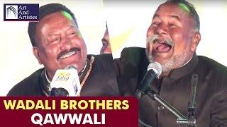 Wadali Brothers | Qawwali | Tujhe Takiya | Part 2 | Idea Jalsa |  Lucknow | Arts And Artistes