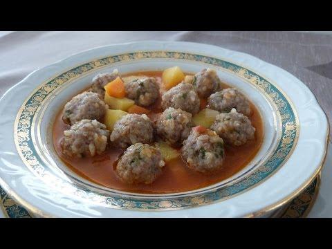 Sulu Köfte Tarifi | Sulu Köfte Yemeği Nasıl Yapılır | Bulgurlu Etli Yemek Tarifleri
