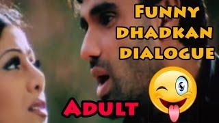 Funny | dhadkan dialogue | Sunil Shetty Mimicry