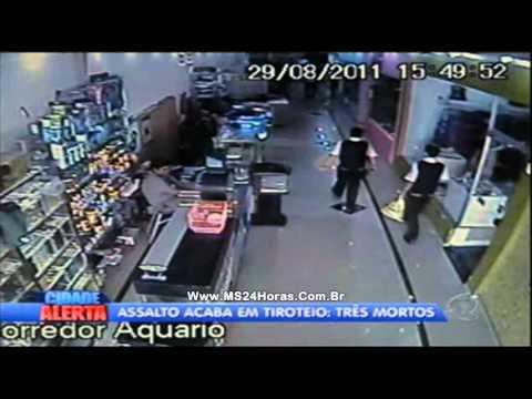 Assalto a carro forte acaba com três mortes em Cuiabá MT