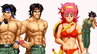 King of Fighters 97 - Old Team - Athena, Clark, Ralf