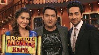 Comedy Nights with Kapil : Sonam Kapoor & Ayushmann Khurrana to do Bewakoofiyaan with Kapil Sharma