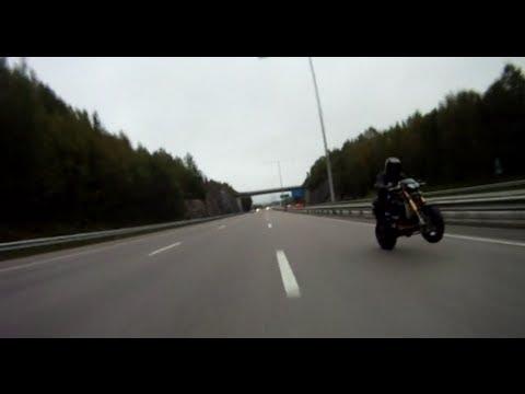 Ghostrider - Hayabusa Turbo 499bhp! 354 kmh wheelie top speed! - Howling GSXR Exhaust - Monster Busa