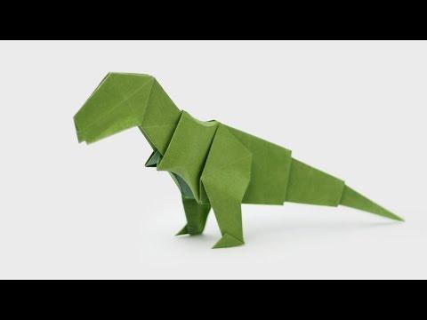 ORIGAMI T-REX (Jo Nakashima) - Dinosaur #5