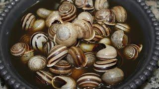 Les escargots à la marocaine -------- كيفية تحضير الحلزون على الطريقة المغربية