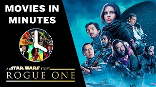 Rogue One: A Star Wars Story in 4 minutes (Movie Recap)