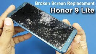 Honor 9 Lite Broken Screen Replacement || How To Replace Broken Screen / Fixing a Cracked Screen