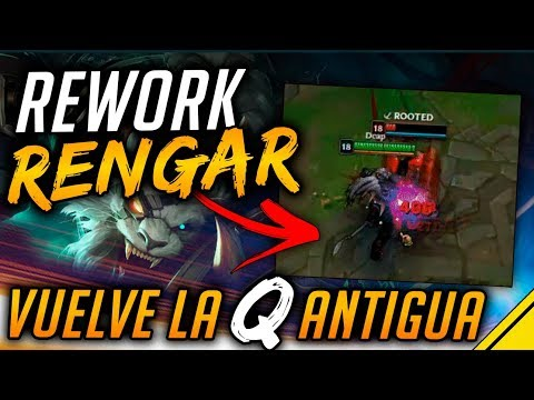 REWORK RENGAR - Vuelve la Q ANTIGUA | Noticias League Of Legends LoL