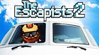 HIJACKING a PRISON AIRPLANE! - Regain Control Escape - The Escapists 2 Gameplay
