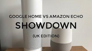 UK Google Home vs Alexa showdown!