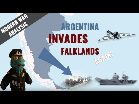 Argentina vs United Kingdom: Falklands War