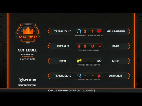 FACEIT Major 2018 | Champions - Day 2