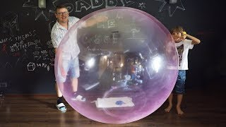 Wubble Bubble Ball SIZE Challenge