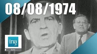 20h ORTF du 8 août 1974 - Richard Nixon devrait démissionner | Archive INA