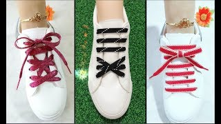 LACE SHOES  | 15 cool ideas how to tie shoe laces - Creative Ways to fasten Shoelaces