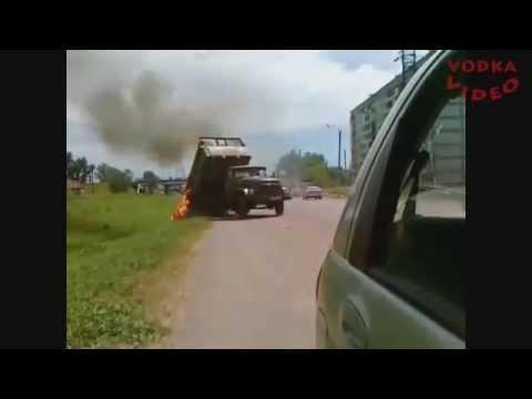 【 衝撃 交通事故の瞬間2013】 世界を震撼させた交通事故集 ドライブレコーダー PART18 HD
