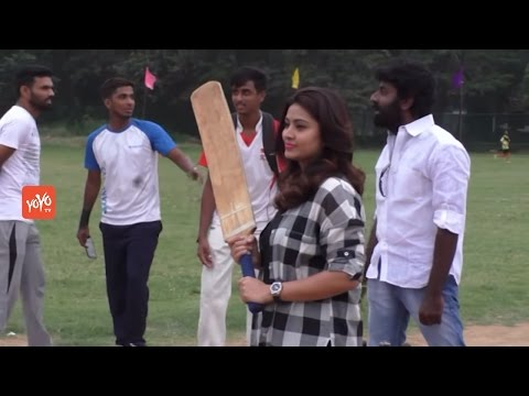 Actress Sneha Plays Cricket Funny - Support To HIV Childrens - Chennai 28 II Innings Movie | YOYO TV