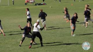 College Women's Ultimate Frisbee Highlights 2016