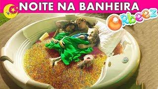 PASSEI NOITE NA BANHEIRA DE ORBEEZ - 100% REAL - BELA BAGUNÇA