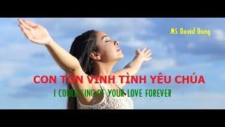 Con sẽ hát về tình yêu Chúa_I could sing of Your love_daviddong