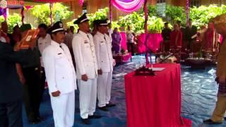 Pelantikan Peratin Kecamatan Lumbok Seminung Kabupaten Lampung Barat
