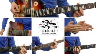 ► The Days - Avicii (Guitar Lesson / Cover)