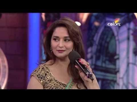 Bigg Boss7 :  Madhuri Dixit and salman khan lovely moment