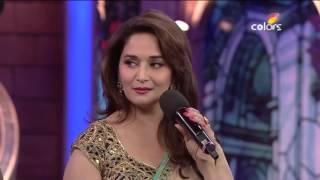 Bigg Boss7 :  Madhuri Dixit and salman khan lovely moment