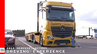 2019 Mercedes Actros Truck Driving Experience