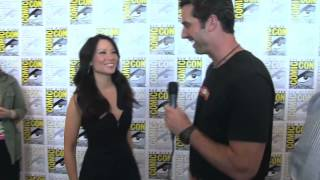 CBS Buzz Tour - At Comic-Con with the Cast of Elementary