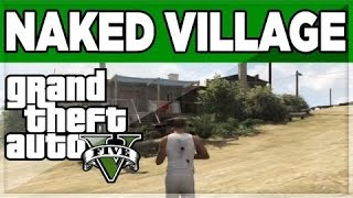 Gta 5 city of NAKED people