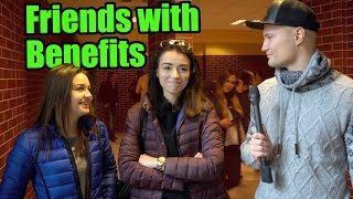 Studentki o przyjaciołach z przywilejami