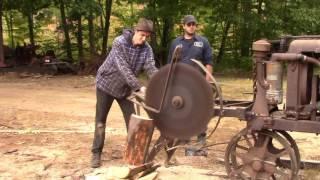 Zagray Original Screw Log Splitter and Cordwood Saw