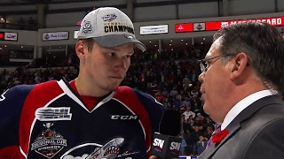 Sergachev: Started this season in NHL, now we're champions