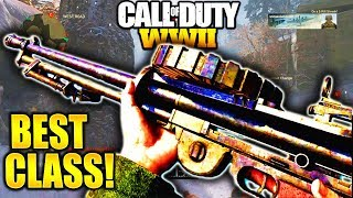USE THIS GUN IN COD WW2! LEWIS BEST CLASS SETUP CALL OF DUTY WW2 BEST CLASS SETUP LEWIS LMG!