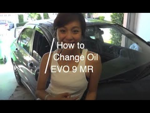 How To Change Engine Oil Featuring Evo 9