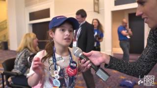 """Young Trump Girl: """"We"""