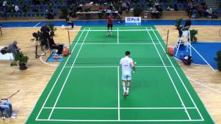 MČR - badminton 2013 - Most - dvouhra muži