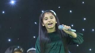قناة اطفال ومواهب الفضائية حفل مهرجان السلام 39  المدينة المنورة اليوم 1