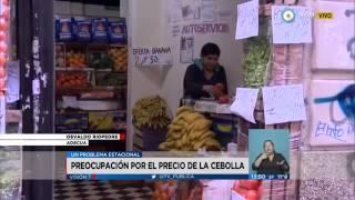5971 economics 003 002 TV Pública Visión 7   Preocupación por el precio de la cebolla