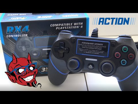 Xxx Mp4 Playstation 4 Snakebyte RX4 Wired Controller Unboxing Review Time For Some ACTION 3gp Sex