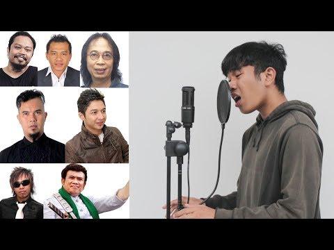 Menirukan 18 Suara Penyanyi Indonesia (Part 2)