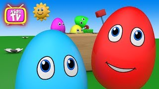 Colors for Children to Learn with surprise Eggs and toys Videos for children