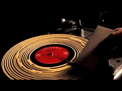 Cleaning a Record with Wood Glue