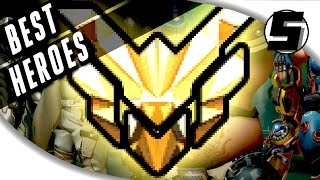TOP 5 BEST HEROES FOR RANKING UP FAST IN OVERWATCH - Ranked Competitive Hero Guide